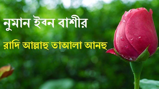 নুমান ইব্ন বাশীর রাদি আল্লাহু তাআলা আনহু